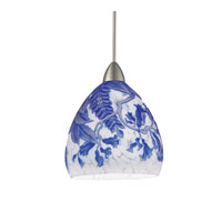 WAC Lighting G536-Bl Glass Shade in Blue G536-BL