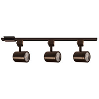 WAC Lighting H-8010/3-30-DB Charge 3 Light 120 Dark Bronze Track Lighting Kit H Track Lighting Ceiling Light