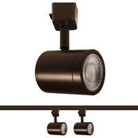 WAC Lighting H-8010-30-DB-2 Charge 1 Light 120 Dark Bronze Line Voltage H Track Lighting Ceiling Light