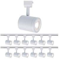 WAC Lighting H-8010-30-WT-12 Charge 1 Light 120V White Line Voltage Track Head Ceiling Light, H Track Fixture
