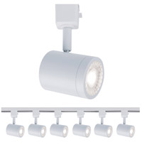 WAC Lighting H-8010-30-WT-6 Charge 1 Light 120V White Line Voltage Track Head Ceiling Light, H Track Fixture