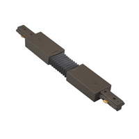 WAC Lighting H Series Flexible Track Connector in Dark Bronze HFLX-DB