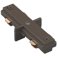 WAC Lighting H Series Straight Line Connector in Dark Bronze HI-DB