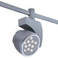 WAC Lighting HM1-LED27F-40-PT Flexrail1 1 Light Platinum LEDme Directional Ceiling Light in 4000K 45 Degrees