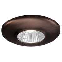 Mini Recessed MR11 Copper Bronze Recessed Housing and Trim