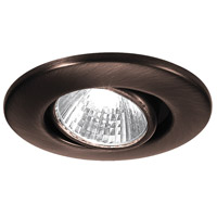 WAC Lighting Low Volt Mini - Round Adjustable in Copper Bronze HR-1137-CB
