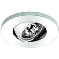 WAC Lighting HR-1137-WT Mini Recessed MR11 White Recessed Housing and Trim
