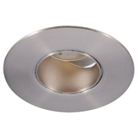 Tesla Recessed Lighting Luxeon LXS8 LED Brushed Nickel Recessed Trim and Socket in 3500K, 26 Degrees