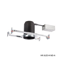 WAC Lighting Tesla Recessed LED Housing HR-3LED-H18D-A
