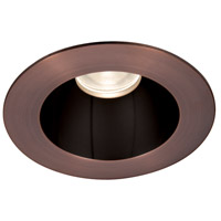 WAC Lighting HR3LEDT118PN930BCB Tesla PRO Module Specular Black Inside with Copper Bronze Exterior Open Reflector Trim in 3000K, 90, 30 Degrees