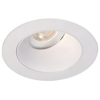 WAC Lighting HR3LEDT318PF830WT Tesla PRO Module White Adjustable Trim in 3000K, 85, 55 Degrees