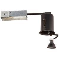 WAC Lighting HR-801-LED-BK Signature MR16 LED Black Remodel Housing, Non-IC Remodel