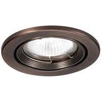 Recessed Lighting MR16 Copper Bronze Recessed Trim and Socket Ceiling Light, Commercial and Residential Lighting
