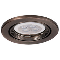 WAC Lighting HR-836LED-CB Signature GY5.3 MR16 Copper Bronze Recessed Downlight