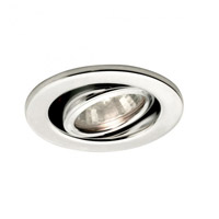 Recessed Lighting MR16 Chrome Recessed Trim and Socket Ceiling Light, Commercial and Residential Lighting