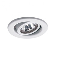 WAC Lighting HR-837-WT Signature GY5.3 MR16 White Recessed Downlight Commercial and Residential Lighting
