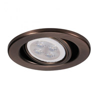 WAC Lighting HR-837LED-CB Signature GY5.3 MR16 Copper Bronze Recessed Downlight