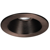 WAC Lighting Rec. Low Volt Trim Step Baffle in Copper Bronze HR-8411-CB
