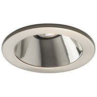 WAC Downlight Low Volt - Bk Reflector/Wt Trim Recessed Downlights - 4 Inch HR-8412-BK