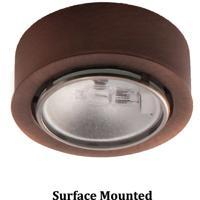 WAC Lighting HR-86-CB Signature G4 Bi-pin Copper Bronze Button Light