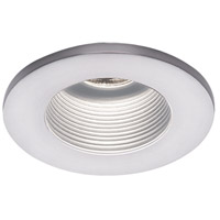 WAC Lighting HR-D324-WT/WT Signature MR16 White Step Baffle Trim, Commercial and Residential Lighting