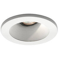 WAC Lighting HR-D411-WT/WT Signature GY5.3 MR16 White Recessed Downlight, IC Airtight Installations photo thumbnail