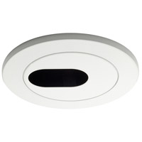WAC Downlight Rec. Low Volt Trim Adjust Slot Recessed Downlights - 4 Inch HR-D413-BK
