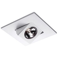 WAC Lighting Rec. Low Volt Trim Adjust Spot in White HR-D416-WT