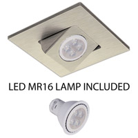 WAC Lighting HR-D416LED-BN Signature GY5.3 MR16 Brushed Nickel Recessed Downlight