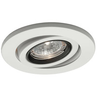 WAC Lighting HR-D417-WT Signature GY5.3 MR16 White Recessed Downlight, IC Airtight Installations