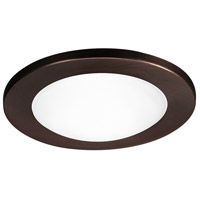WAC Lighting 4in Trim Drop Dish Glass Dome For Showers in Copper Bronze HR-D418-CB