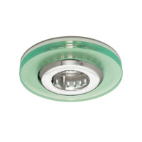WAC Lighting Rec. Low Volt Trim Acrylic Disc in Chrome HR-D420-CH