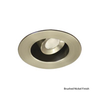 WAC Lighting LEDme Mini Recessed Downlights - Open Reflector Round Trim Warm White in Brushed Nickel HR-LED212E-27-BN