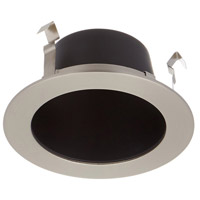 LEDme LED Brushed Nickel Open Reflector Trim in Black