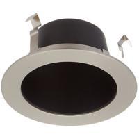 WAC Lighting HR-LED411-BK/BN Ledme LED Brushed Nickel Open Reflector Trim in Black