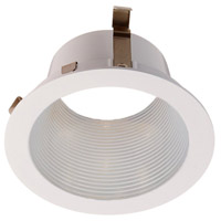 WAC Lighting HR-LED421-WT/WT LEDme LED White Step Baffle Trim