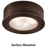 WAC Lighting HR-LED87-27-CB Undercabinet Lighting LED Copper Bronze Button Light in 2700K