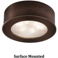 WAC Lighting HR-LED87-CB Undercabinet Lighting LED Copper Bronze Button Light in 3000K