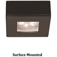 Undercabinet Lighting Replaceable LED Module Dark Bronze Button Light in 3000K