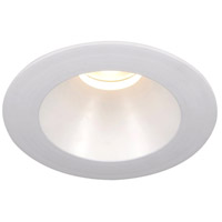 WAC Lighting HR-3LED-T118F-W-WT Tesla Recessed Lighting LED White Recessed Trim and Socket in 3000K 50 Degrees