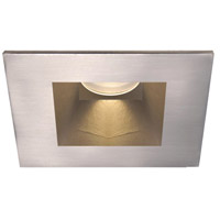 Tesla Recessed Lighting Luxeon LXS8 LED Brushed Nickel Recessed Trim and Socket in 3000K