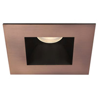 WAC Lighting Tesla 1 Light Recessed Socket and Trim in Copper Bronze HR-3LED-T718F-35CB