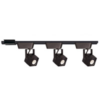 WAC Lighting CI-HHT-802/3-BK HT-802 1 Light 120V Black H Track Fixture Ceiling Light