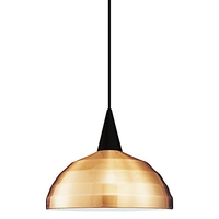 Cosmopolitan 1 Light 12 inch Black Pendant Ceiling Light in 100, Copper, H Track