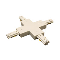 WAC Lighting H Series X Connector in White HX-WT