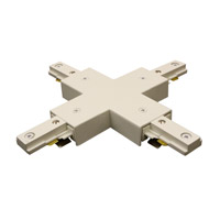 WAC Lighting J Series X Connector in White JX-WT