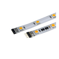 WAC Lighting LED-T24P-1-WT InvisiLED Pro 24V Indoor White 3000K 12 inch LED Tape in 12in