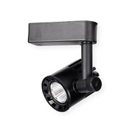WAC Lighting LEDme Exterminator 1 Light Track Head in Black H-LED20F-30-BK