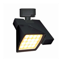 WAC Lighting Logos H-Track LED Track Head (3000K Flood) in Black H-LED40F-30-BK