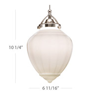 WAC Lighting Mirabel QP Track Pendant (3000K LED) in Chrome QP-LED495-WT/CH